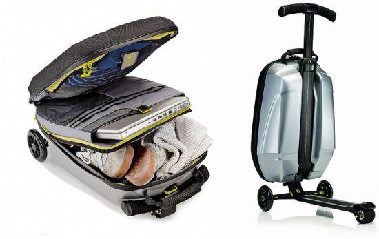 Чемодан самокат (чемокат - сумка самокат) Обзор товаров, прикольные и необычные товары, вещи, штуки, гаджеты и подарки