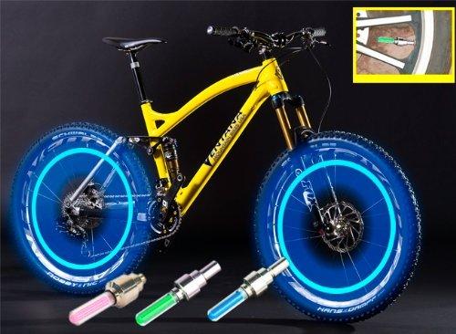 Светодиодные колеса для велосипеда