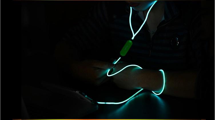 Как сделать так чтобы светящиеся наушники светились