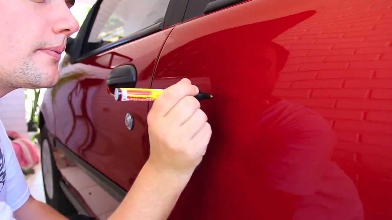 Как стереть краску с автомобиля