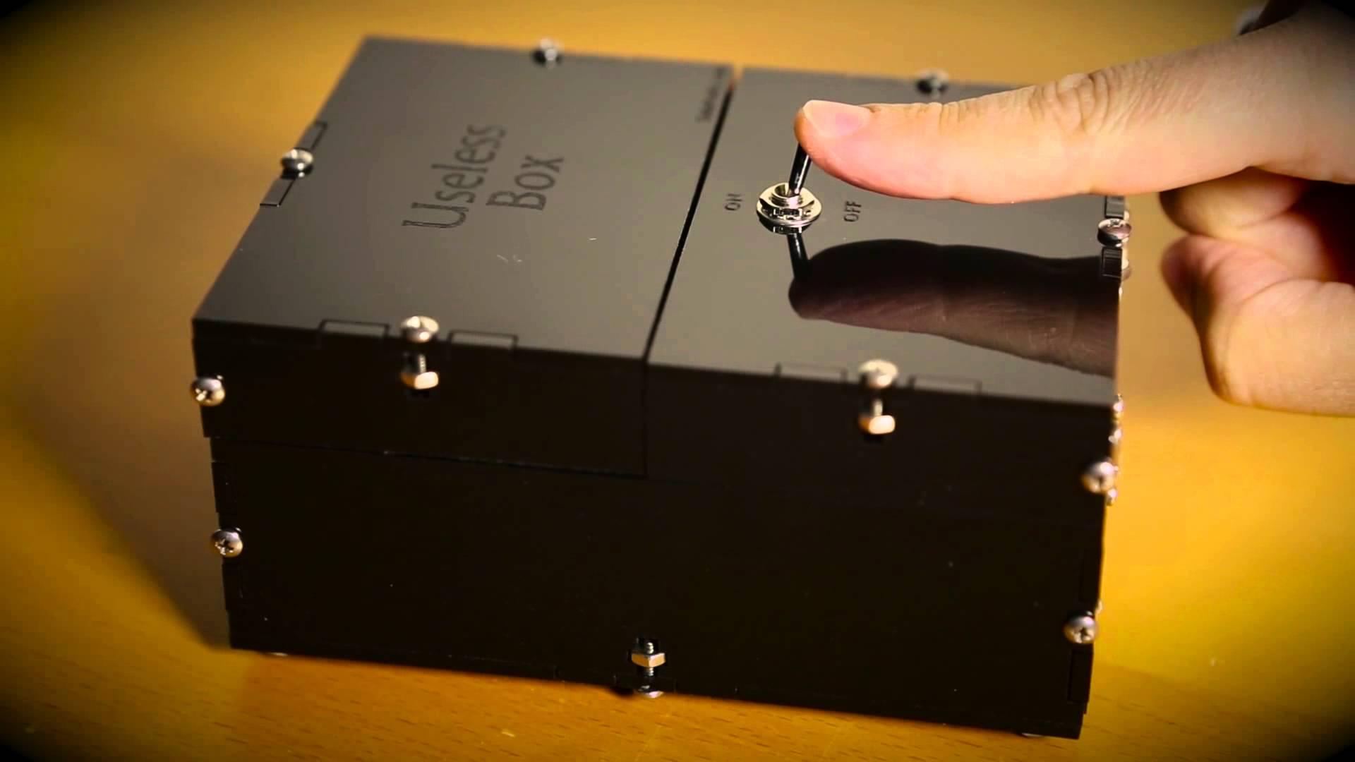 Самая бесполезная вещь в мире - бесполезная коробка USELESS BOX KIT Обзор товаров, прикольные и необычные товары, вещи, штуки, г