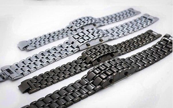 Модные светодиодные наручные часы