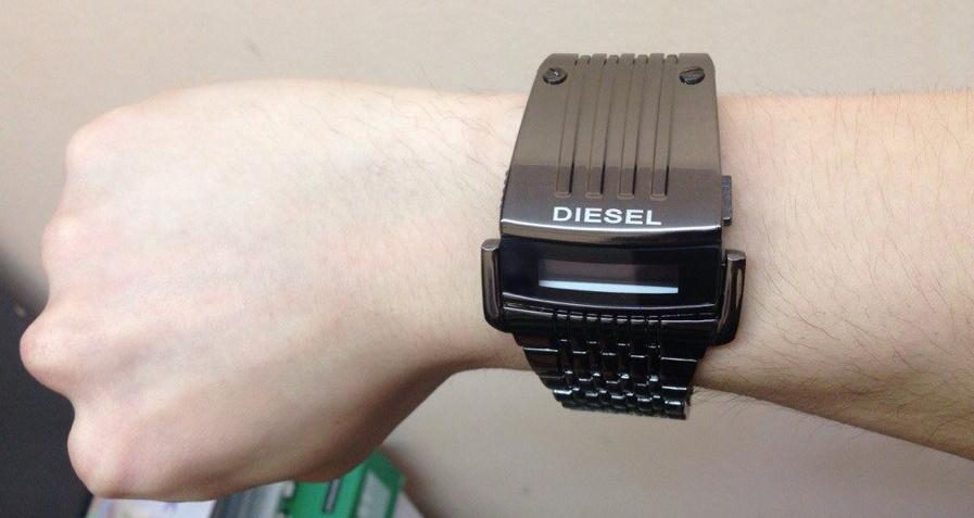 Купить часы наручные мужские дизель хищник