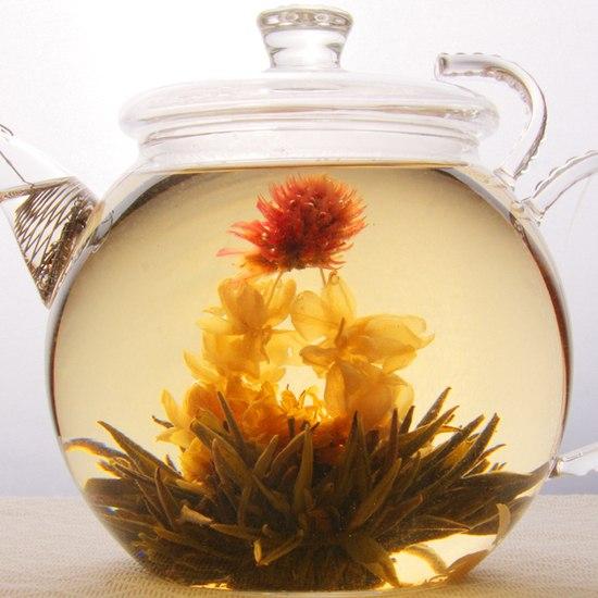 Чай цветы