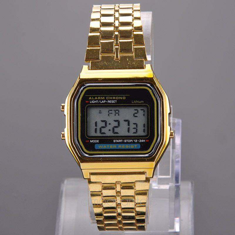 Электронные часы модные