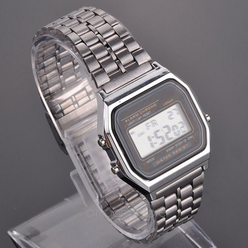 Часы цифровые наручные мужские электронные купить