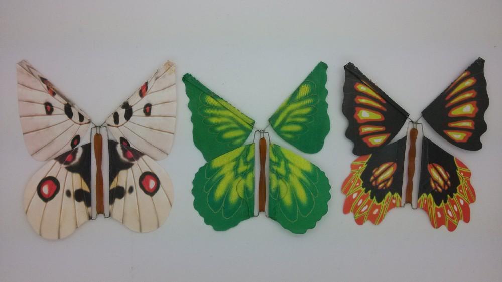 Как из открытки сделать бабочку 15