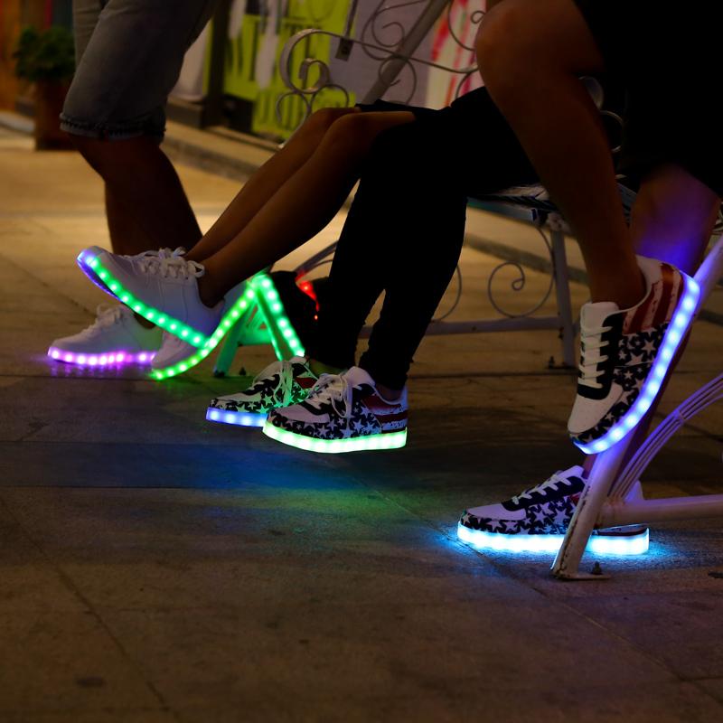Как сделать обувь светящейся 726