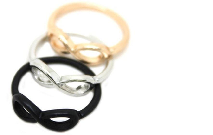 кольцо со знаком бесконечность и цены