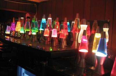 Lava Lite 4221 17Inch Mega Lava Lamp Purple WaxBlue