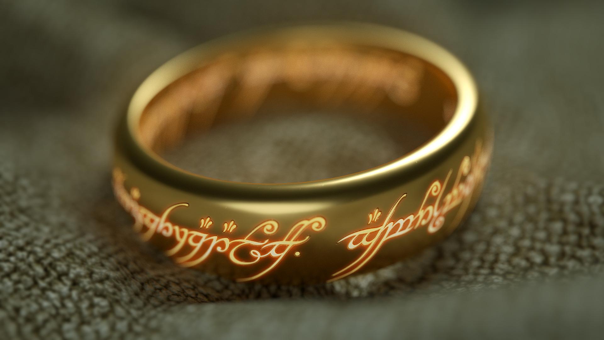 Сделать открытку, властелин колец надпись на кольце в картинке