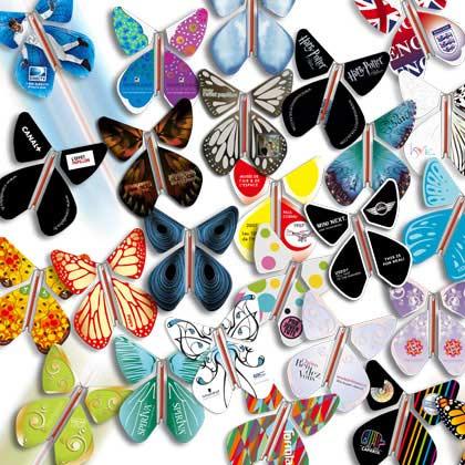 Открытка с бабочкой вылетает, 50-летием открытки
