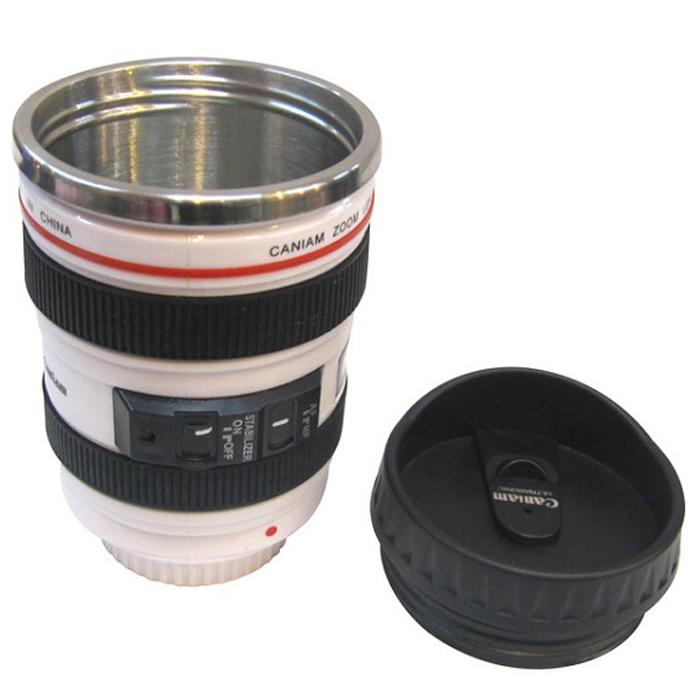 Кружка в виде объектива фотоаппарата